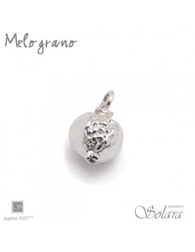 Pendente charm Melograno Argento - Solara Argenti