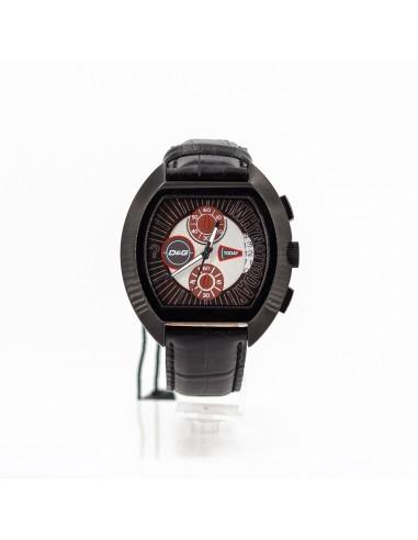 Orologio Uomo D G DW0214 Cronografo in acciaio e pelle 519c5b35055
