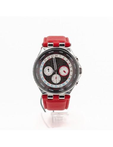 Orologio Uomo D&G 3719770204 Cronografo in acciaio e pelle