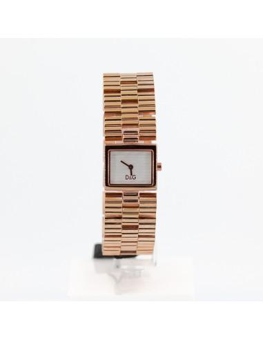 Orologio Donna D&G DW0341 Solo tempo in acciaio oro rosa