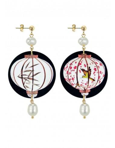 Orecchino Lanterna Perla collezione The Circle Japan Lebole