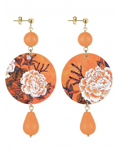 Orecchino Arancio collezione Japan Lebole