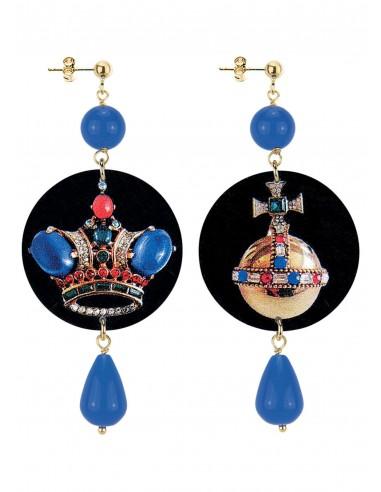 Orecchino Corona collezione Jewelry Lebole