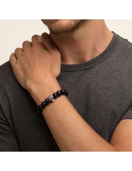 "Bracciale ""Power Bracelet Teschio Maori"""